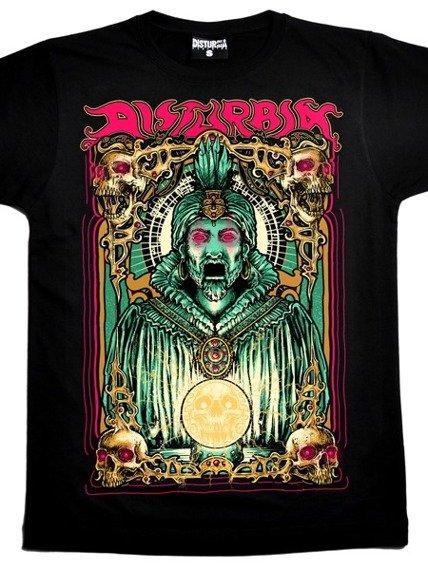 koszulka DISTURBIA - ZOLTAR (BLACK)