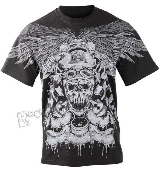 koszulka DRAGON - BIKER SKULL