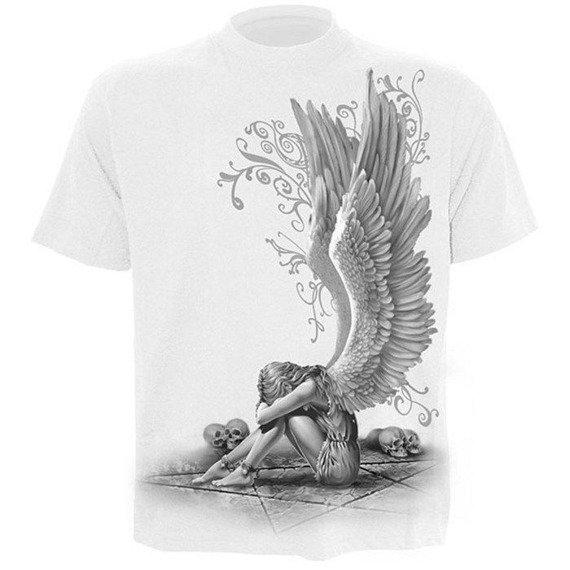 koszulka ENSLAVED ANGEL biała