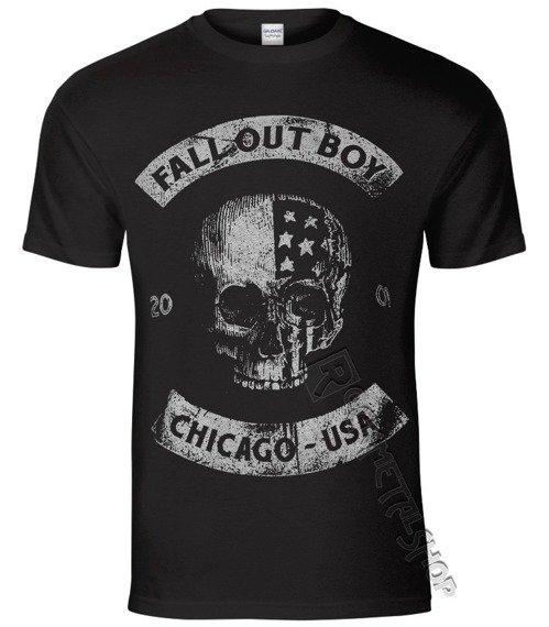 koszulka FALL OUT BOY - CHICAGO SKULL