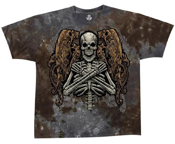koszulka FALLEN ANGEL barwiona