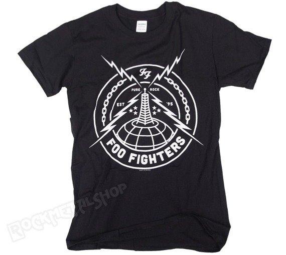 koszulka FOO FIGHTERS - BLACK STRIKE