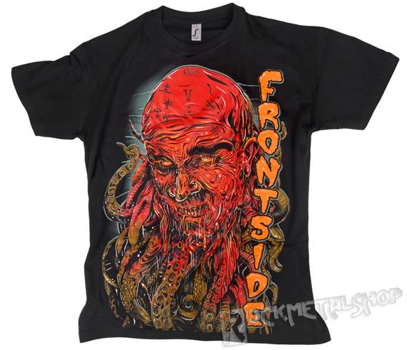 koszulka FRONTSIDE - OŚMIORNICA czarna