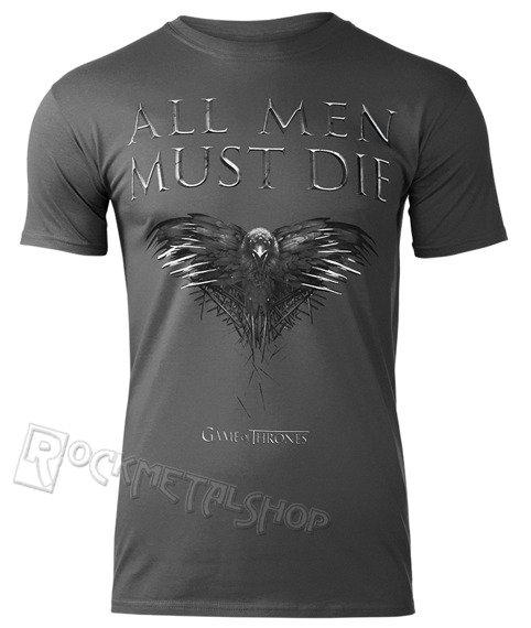 koszulka GAME OF THRONES - ALL MEN MUST DIE