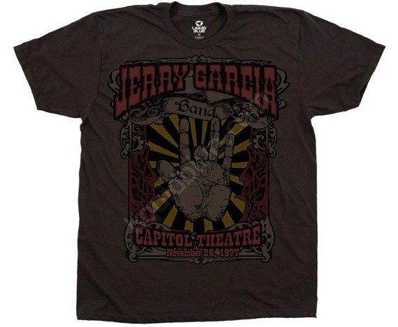 koszulka GRATEFUL DEAD - HAND MADE brązowa