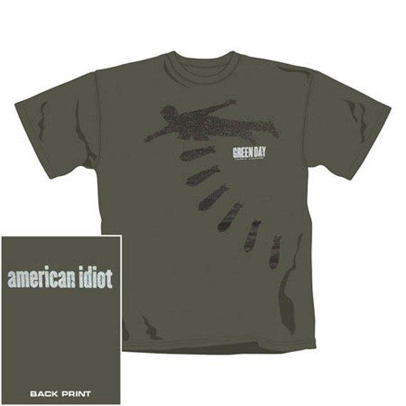 koszulka GREEN DAY - BOMBS (0832TSCP)