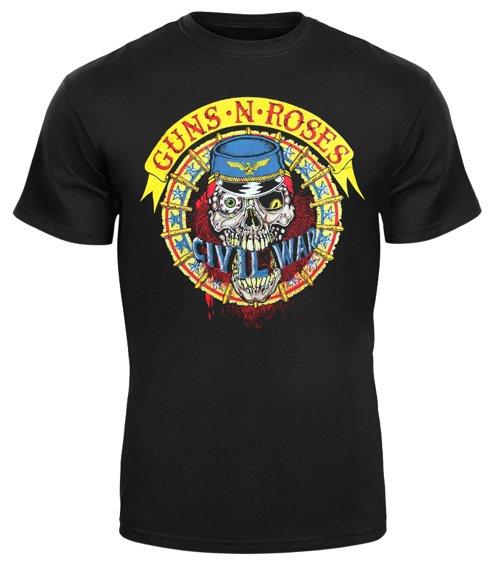 koszulka GUNS N' ROSES - KNIFE SKULL