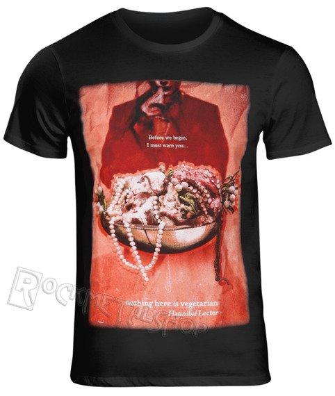 koszulka HANNIBAL - NOTHING HERE IS VEGETARIAN
