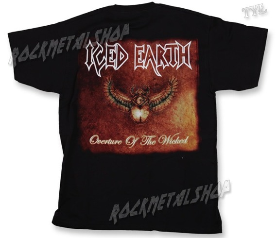 koszulka ICED EARTH - OVERTURE OF THE WICKED