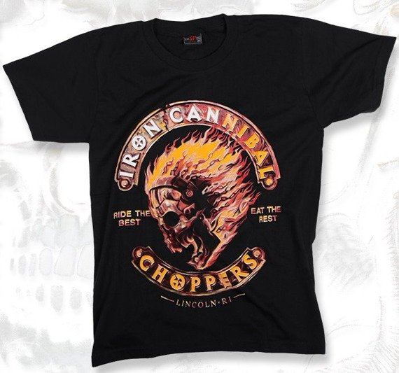 koszulka IRON CANNIBAL CHOPPERS