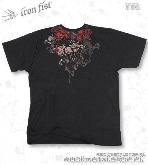 koszulka IRON FIST - ANGEL OF DEATH (CHARCOAL)