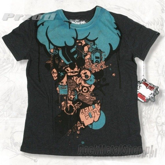 koszulka IRON FIST - BRAINSTORM (Charcoal Heather)