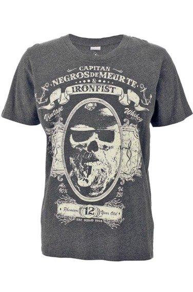 koszulka IRON FIST -  CAPITIAN NEGROS (CHARCOAL)