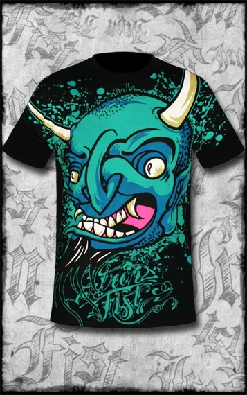 koszulka  IRON FIST - DEVILS PLYTHING (BLACK)