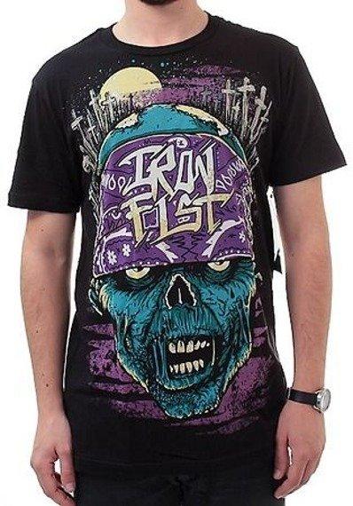 koszulka IRON FIST - NECROS WITH ATTITUDE (BLACK)