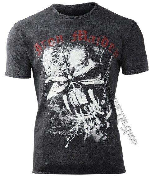 koszulka IRON MAIDEN - FINAL FRONTIER EDDIE, barwiona