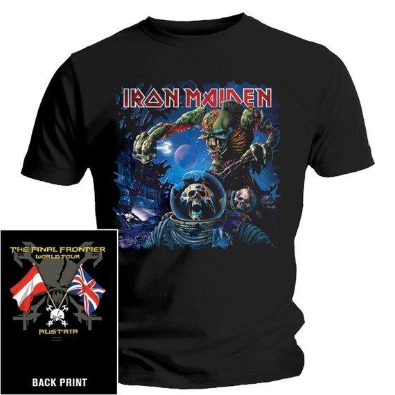 koszulka IRON MAIDEN - FINAL FRONTIER FLAG AUSTRIA