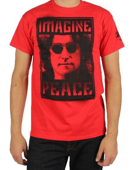 koszulka JOHN LENNON - IMAGINE PEACE BLOCK PHOTO