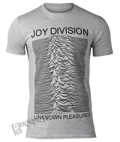 koszulka JOY DIVISION - UNKNOWN PLEASURES szary melanż