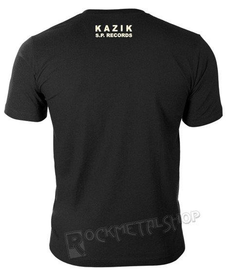 koszulka KAZIK - NIEZALEŻNE KRUTKIE FILMY MUZYCZNE ramka, czarna