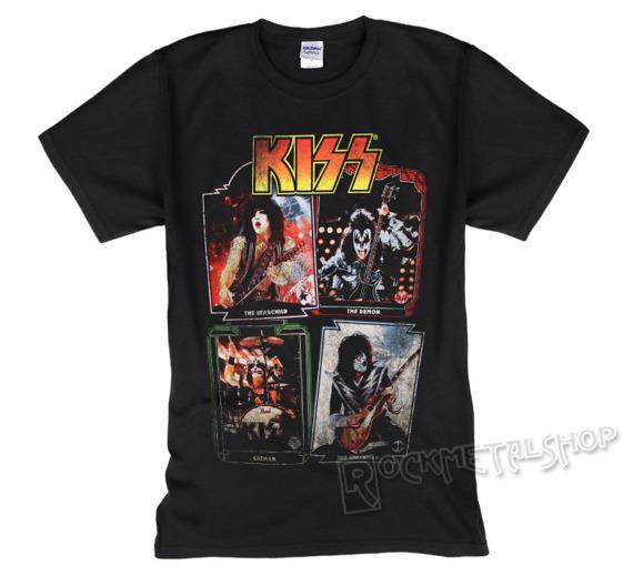 koszulka KISS - FOUR PHOTOS