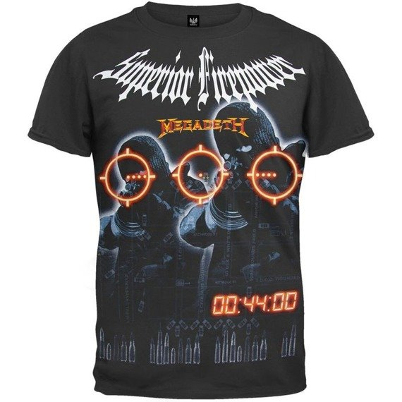 koszulka MEGADETH - SUPERIOR FIREPOWER