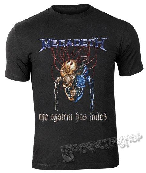 koszulka MEGADETH - SYSTEM FAILED