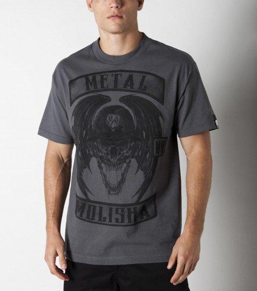 koszulka METAL MULISHA - DEEGAN PATCHES szara