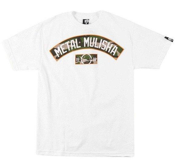 koszulka METAL MULISHA - HIDDEN biała