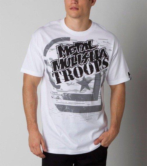 koszulka METAL MULISHA - MIGHTY biała
