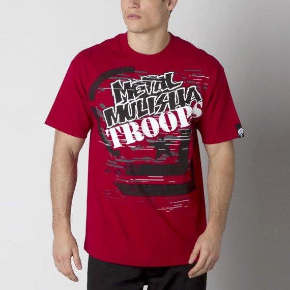 koszulka METAL MULISHA - MIGHTY czerwona