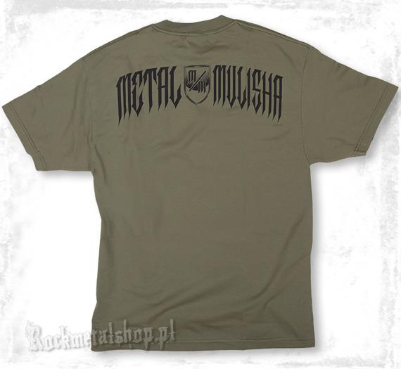 koszulka METAL MULISHA - TYRANT oliwkowa