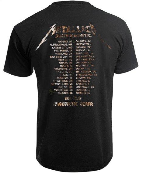 koszulka METALLICA - BURIED ALIVE WORLD MAGNETIC TOUR