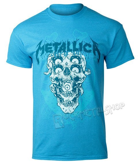 koszulka METALLICA - DOUBLE SKULL