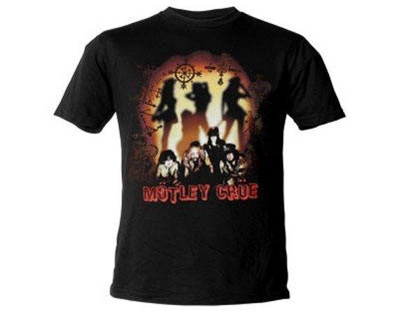 koszulka MOTLEY CRUE - SILHOUETTE