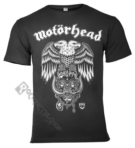 koszulka MOTORHEAD - HIRO ciemnoszara