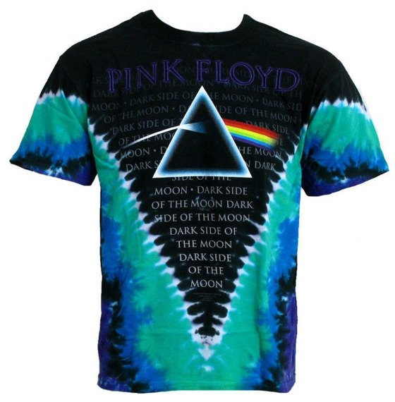 koszulka PINK FLOYD - DARK SIDE VDYE, barwiona