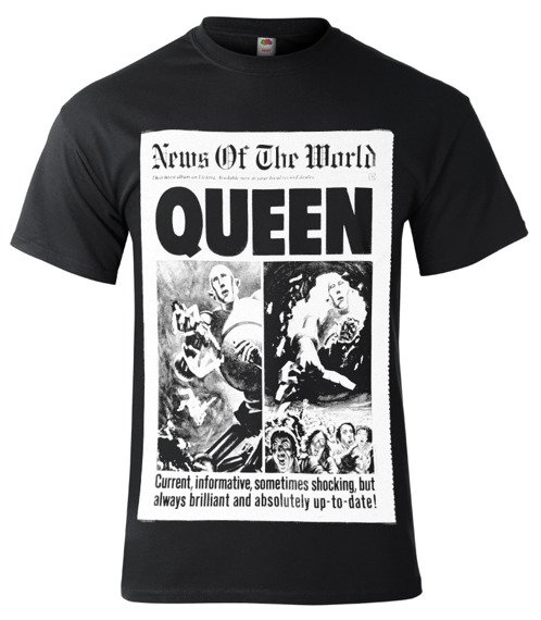 koszulka QUEEN - NEWS OF THE WORLD