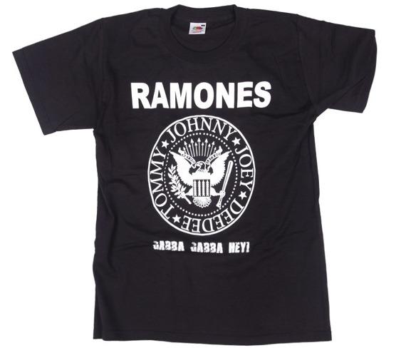 koszulka RAMONES - GABBA GABBA HEY