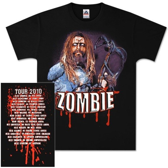 koszulka ROB ZOMBIE - X-HEAD 2010