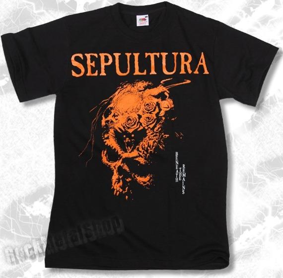 koszulka SEPULTURA - BENEATH THE REMAINS