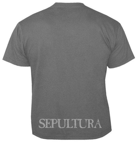 koszulka SEPULTURA - LOGO GREY