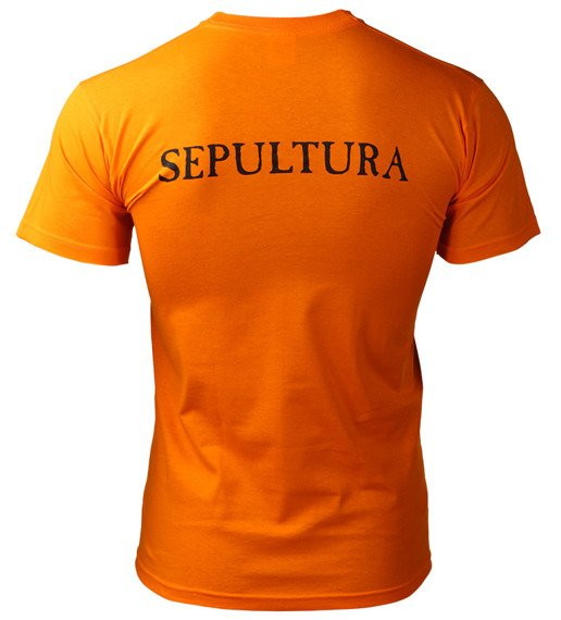 koszulka SEPULTURA pomarańczowa