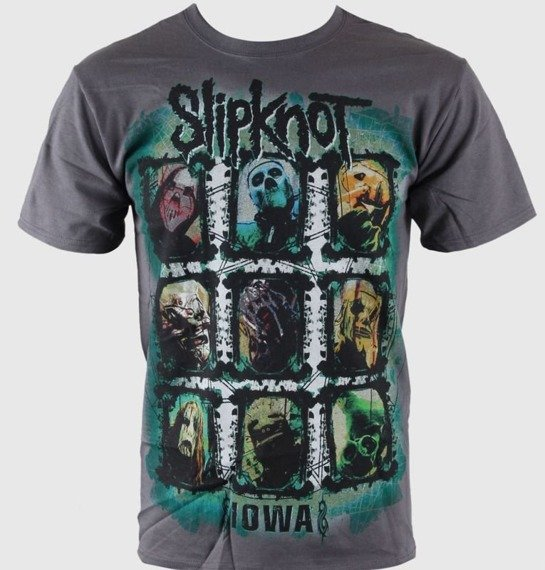 koszulka SLIPKNOT - COLORS GRID