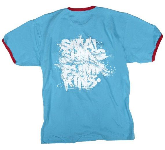 koszulka SMASHING PUMPKINS - LOGO niebieska