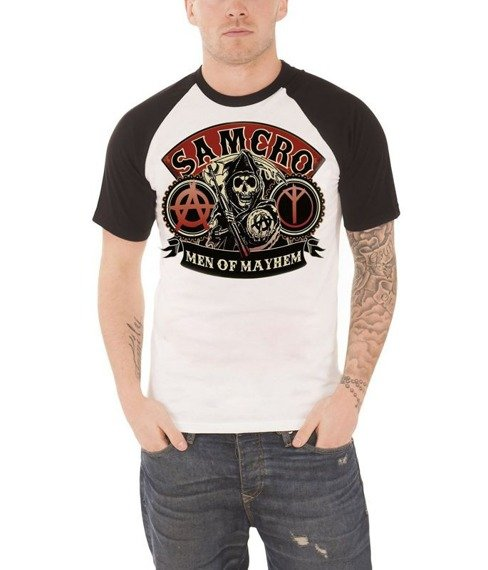 koszulka SONS OF ANARCHY - SAMCRO REAPER