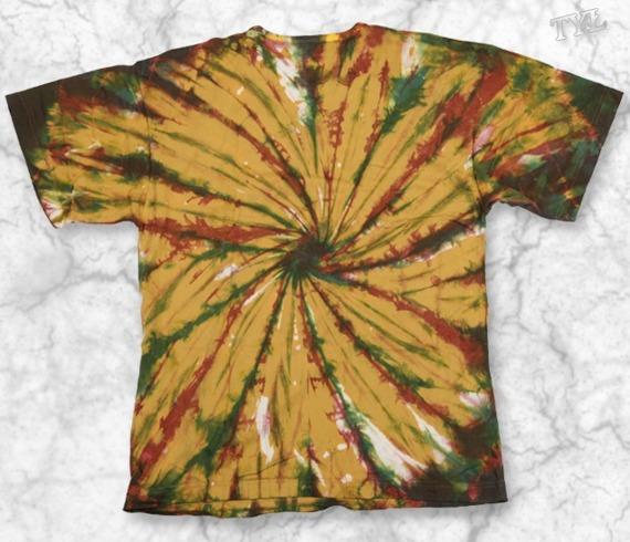 koszulka SPIRALA barwiona