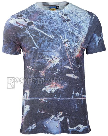koszulka STAR WARS - HUGE SPACE BATTLE