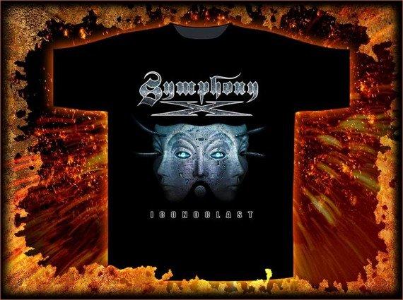 koszulka SYMPHONY X - ICONOCLAST