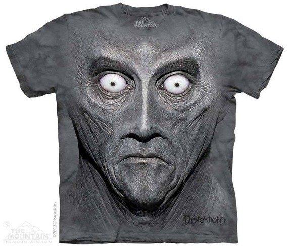 koszulka THE MOUNTAIN - BIG FACE CREETON, barwiona